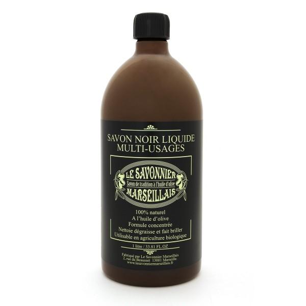 Savon noir liquid soap 3 bottles set le savonnier marseillais - Insecticide savon noir bicarbonate ...