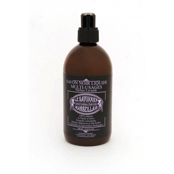 0 5 liter lavender savon noir liquid soap with olive oil. Black Bedroom Furniture Sets. Home Design Ideas