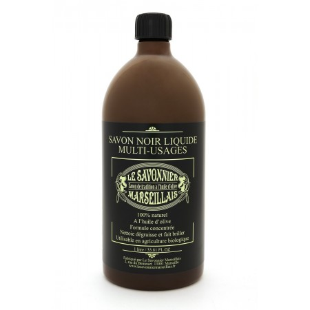 1 liter Unscented Savon Noir Liquid Soap