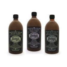 Savon Noir liquid soap - 3 bottles Set