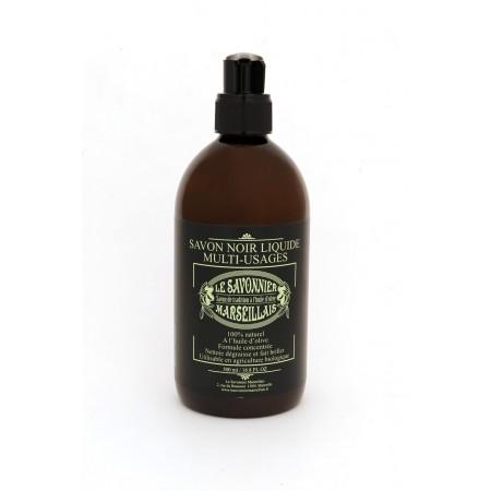 0,5 liter olive oil unscented Savon Noir liquid soap