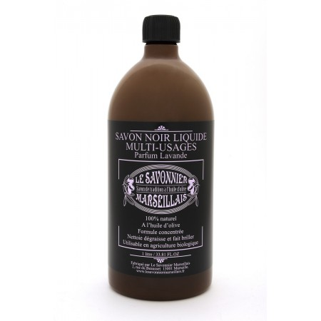 1 liter Lavender Savon Noir liquid soap